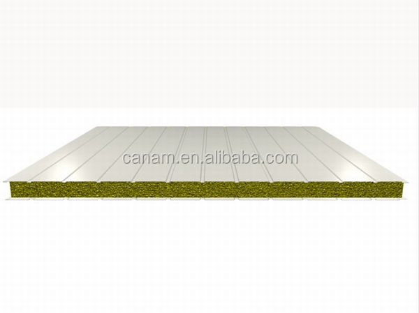 CANAM-metal sheet roof low cost 80m2 prefab house plan