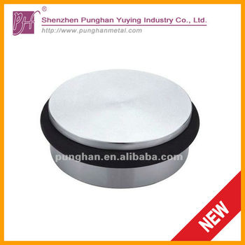 heavy duty round metal rubber shower door stop