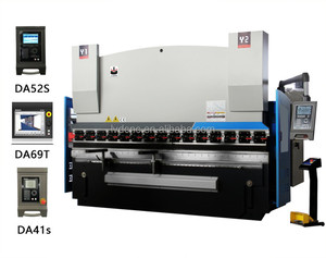 WC67K-200T/2500 sheet metal full cnc hydraulic bending and good quality machine