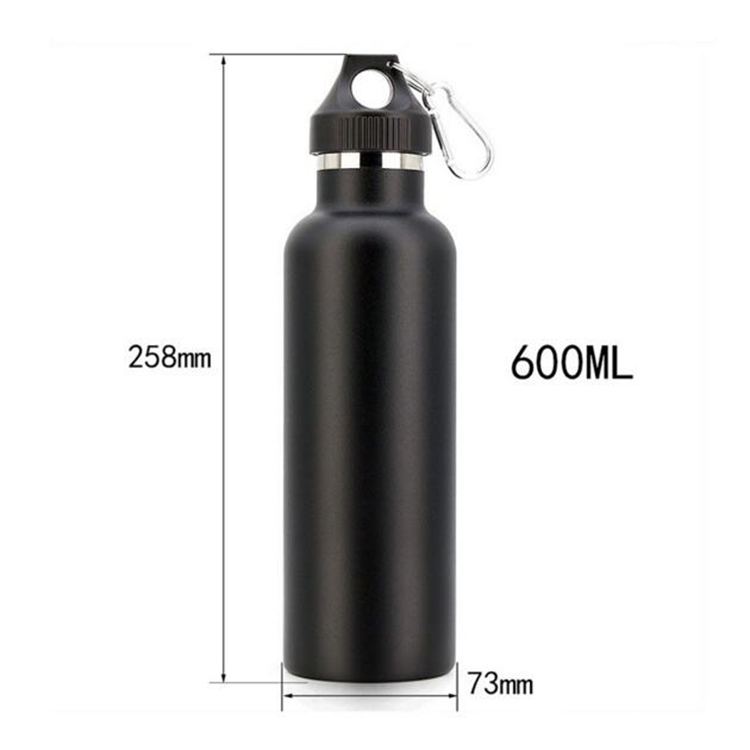 Factory Custom Leak Proof Double Wall Vacuum 304 Stainless Steel Water Bottle with Your Logo