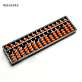 Plastic ABS Abacus Arithmetic Soroban 15 Digits Kids Maths Calculating Tools Chinese Abacus Toys Abacus Educational