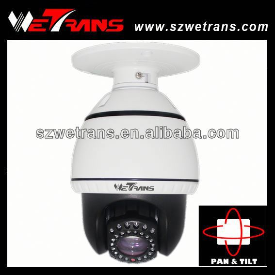 "WETRANS TR-FD903 4"" Outdoor 10X Zoom 20m Night Vision WIFI PTZ Outdoor Dome IP Camera"