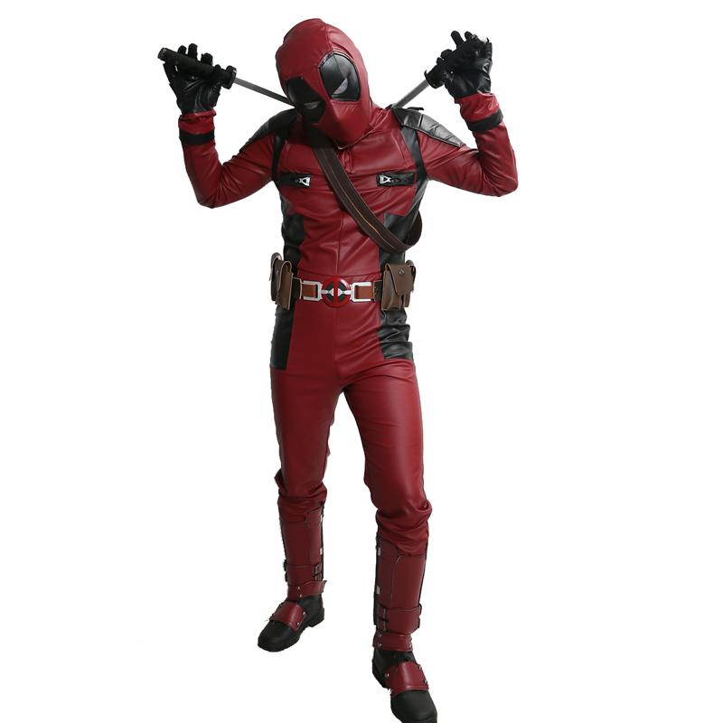 2016 Cool New Movie Deadpool Costume Deadpool Superhero ...