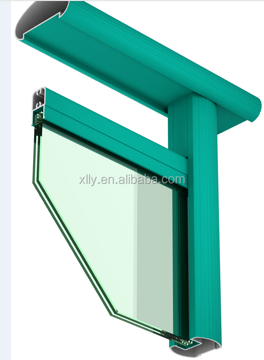 Anhui casement window aluminium profile,aluminum door and window profile