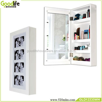 Wooden Photo Frame Cabinet With Mirror And Makeup Storage Cabinet   Buy  Mirror And Makeup Storage Cabinet,Photo Frame Cabinet With Mirror,Wooden  Photo ...