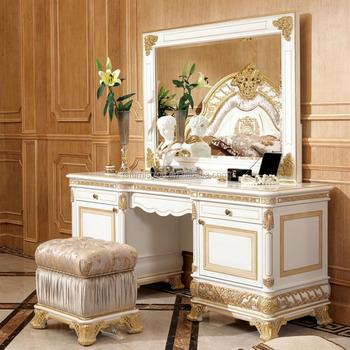 Slaapkamer Meubels Wit.Yb62 Franse Barok Ontwerp Slaapkamer Meubels Antieke Hoogglans Wit