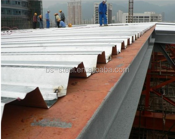 Oem Steel Reinforced Truss Deck Steel Bar Truss Decking