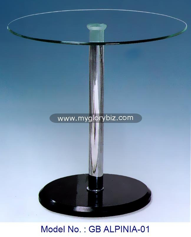 Oval Living Room Center Table Furniture, Stylish Design Glass Coffee Table, Glass Furniture Living Room Coffee Table