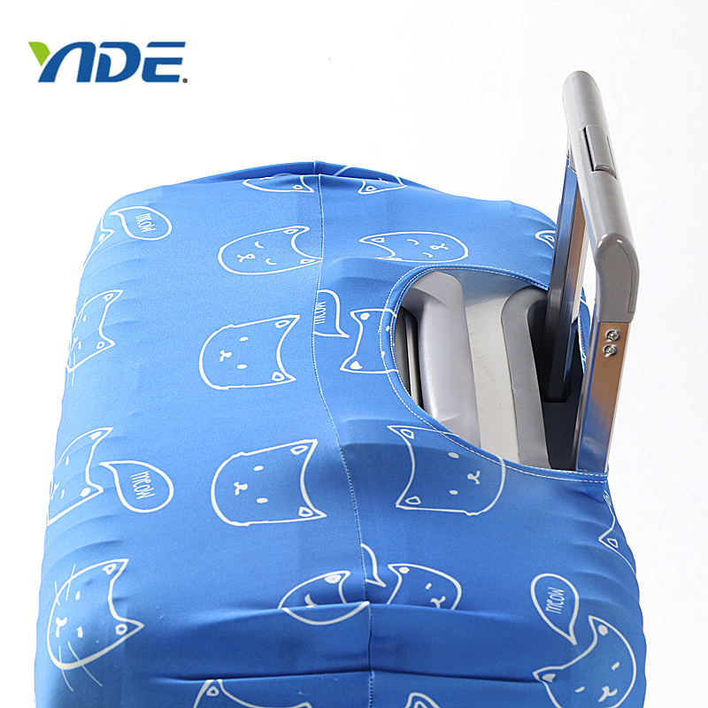 Promotion Custom Travel Luggage Cover With Fashion Popular Printed