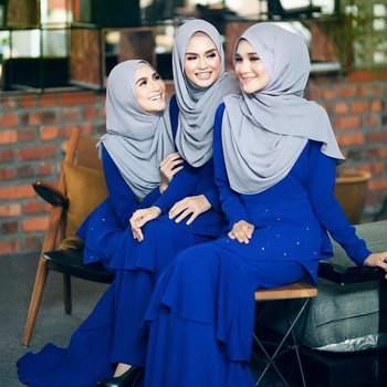 High Quality Women Muslim Soft Shawls Promotional Fashion Chiffon Hijab/Scarf