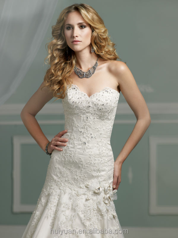 sexy high quality white lace ball gown sleeveless brides maid dresses