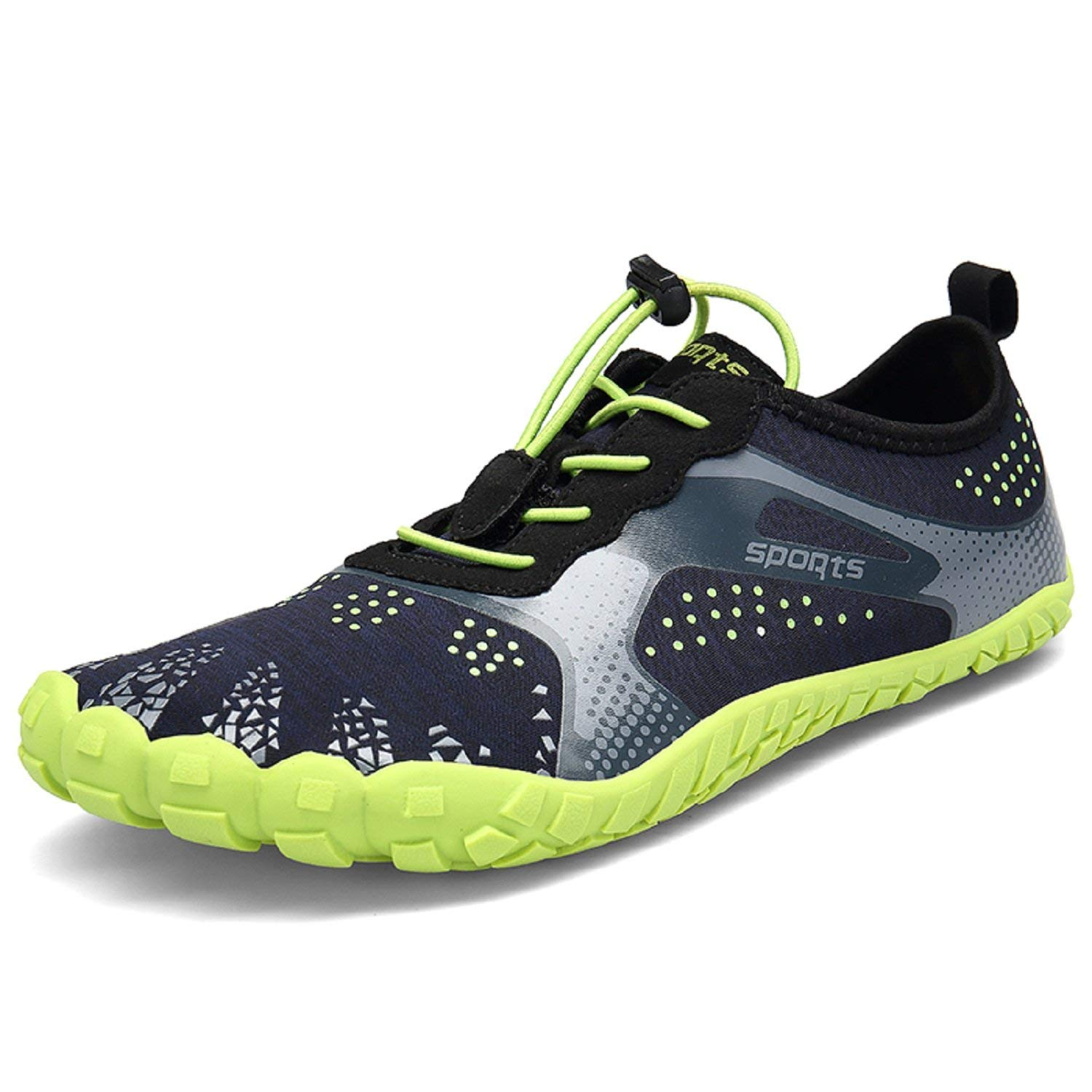 TQGOLD Mens Womens Barefoot Running Shoes Quick-Dry Water Shoes Athletic Outdoor Hiking Walking Beach