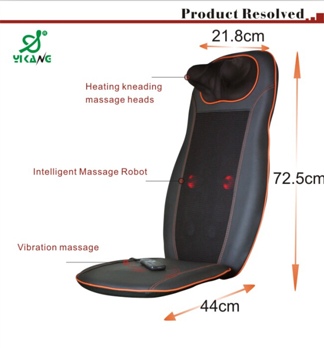 heated massage chair. China Supplier Portable Electric Full Body Shiatsu Heated Massage Cushion Chair N