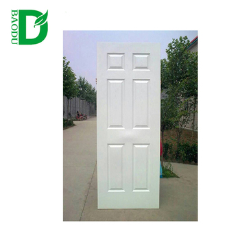 Superbe Cheap Wooden Internal Door 6 Panel Interior Doors With Frame