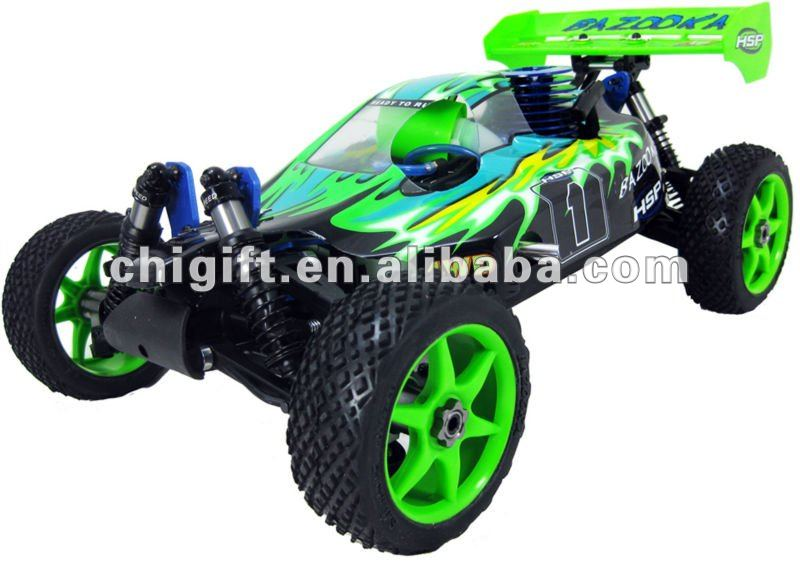 HSP Racing BAZOOKA 1/8 scale RC Nitro Off Road Buggy