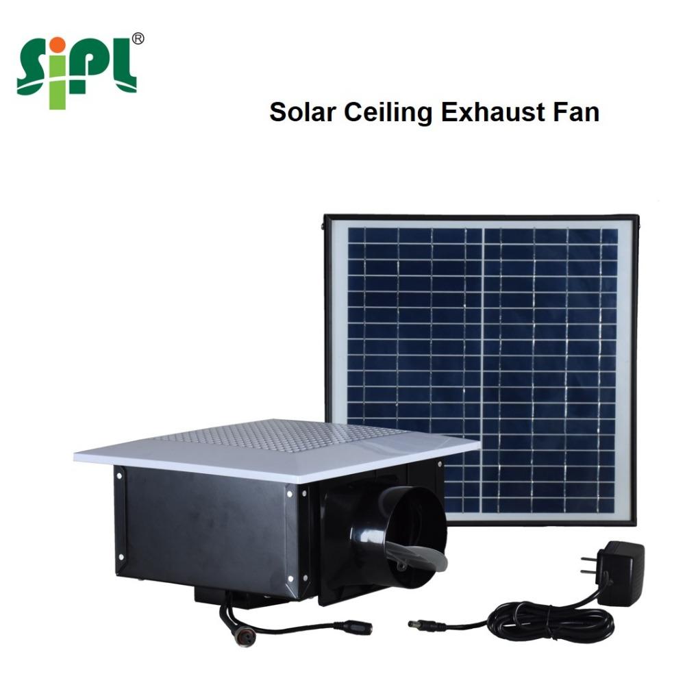 Bad Und Küche Verwenden Solarmodul Power Decke Luft Lüftung Abluftventilator    Buy Beste Küche Abluftventilator,Runde Badezimmer Abluftventilator,Solar  ...
