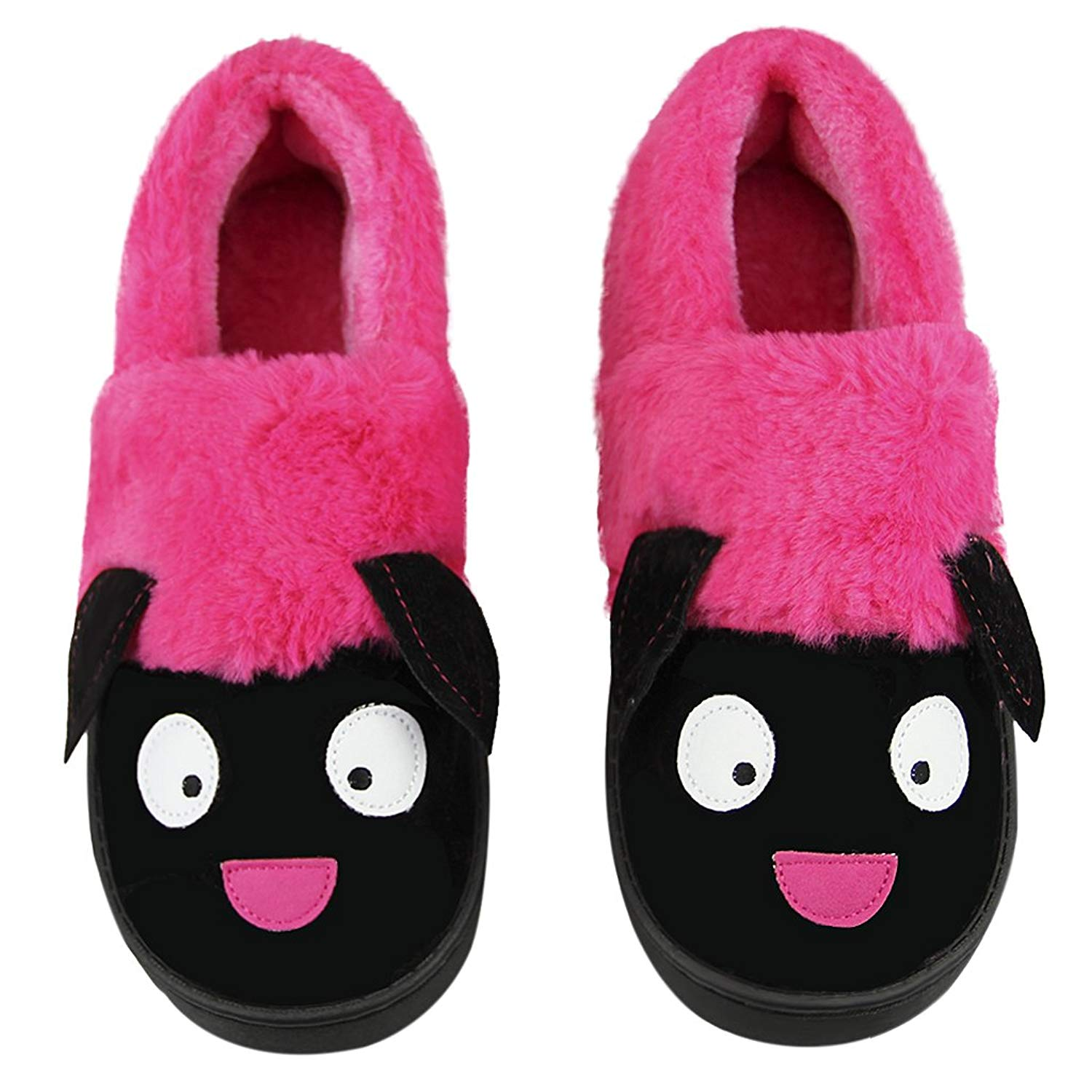 26dcaa7946df Get Quotations · Unisex Winter Indoor Slip-on Slippers