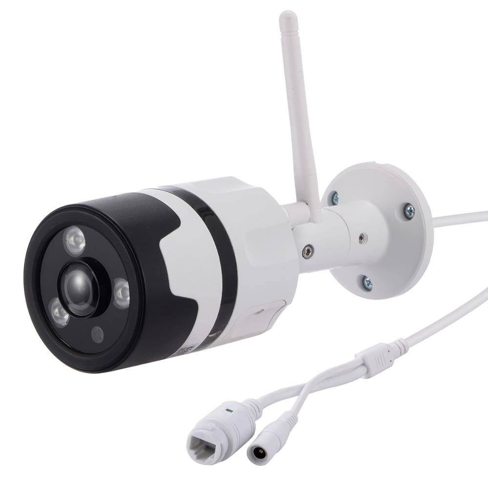 Outdoor Fisheye wide range view Two way Audio 1080P t wireless onvif IP Camera Support CamHi APP