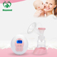 Best selling Mini Portable Smart Display electric breast milk pump electronic Baby care silicone breast pump
