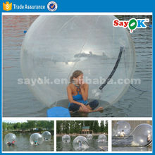 giant inflatable water ball paintball/ water bouncing ball/ bubble ball walk water