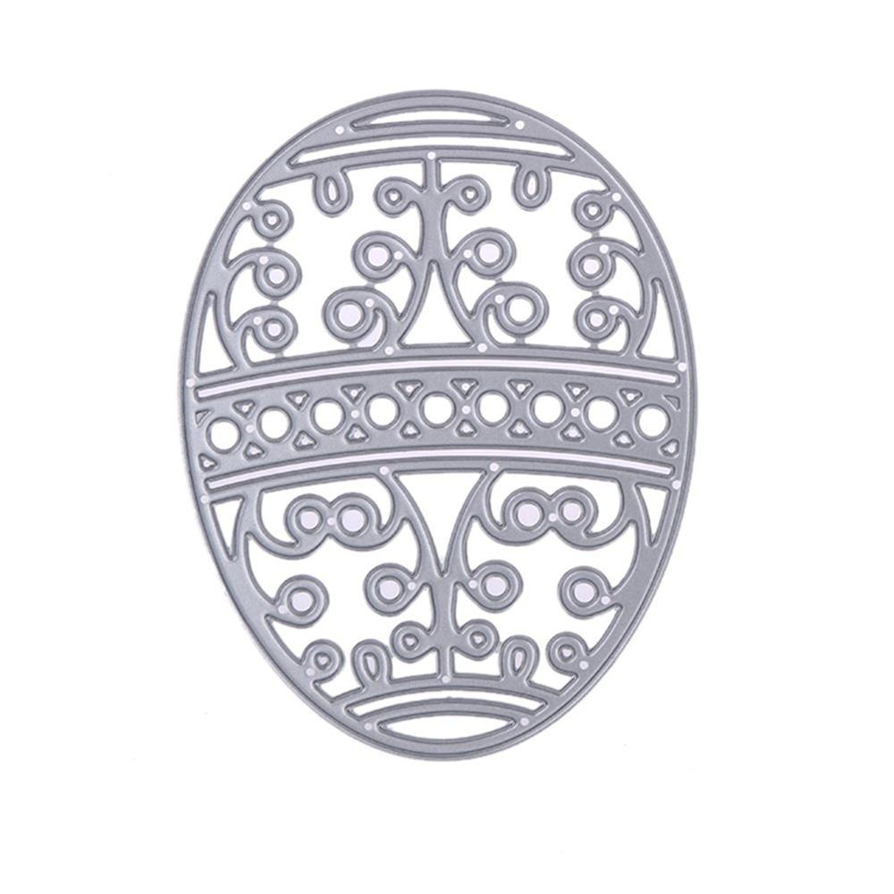 Easter Egg Metal Cutting Dies Stencils Embossing Card Scrapbooking Album Decoration Craft Die Cutting Template Folder Suit
