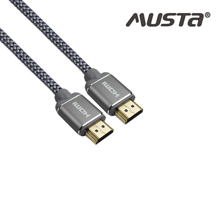 Musta Ultra High Speed HDMI Cable Ultra-HD (UHD) 4K@120Hz 8K