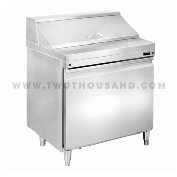 Ttslark Commercial Door Sandwich Prep Table Refrigerator - Commercial sandwich prep table