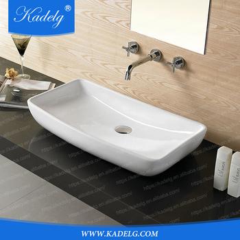drop in bathroom sinks. Modern Rectangular Drop Bathroom Sink Without Faucet Hole  Buy