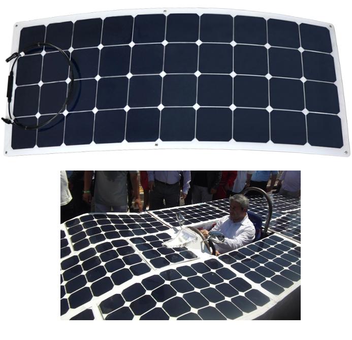 USA cells 120w flexible solar panel kit for golf cart boat etc 120 watt