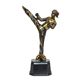 Hot sale resin taekwondo souvenirs figurine trophy sport trophy awards