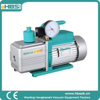 high pressure 12/10CFM Factory price Portable oil free dry double stage vacuum pump