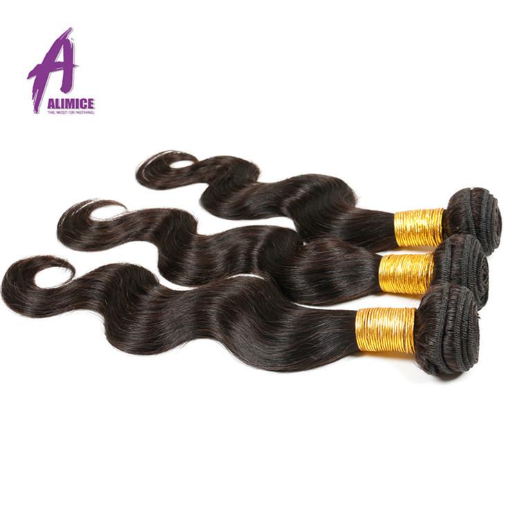100 Percent Unprocessed Raw Sew In Weave Brazilian Virgin Human Hair