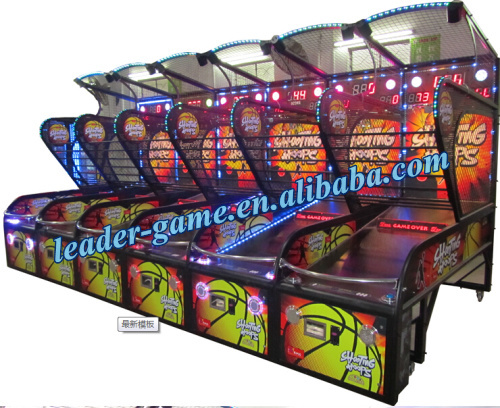 Coin operated arcade basketball machine electronic basketball scoring machine for sale