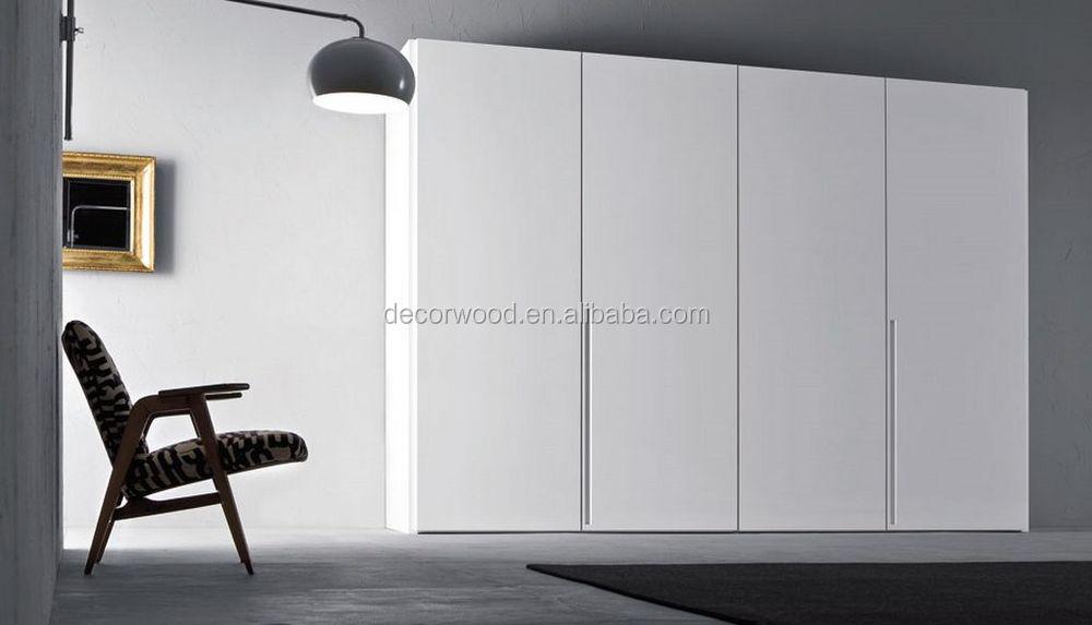 Custom Made White Modern Lacquer 4 Doors Wardrobe Buy