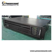 PA-6150 powavesound speaker amplifier 150W 6 channel public address power amplifier 200W optional
