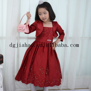 Fashion Kids Wedding Gown Flower Formal Dress Patterns For Girls