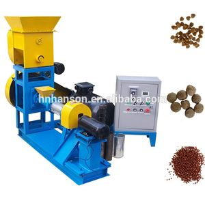 New Design Different Shapes Fish Feed Extruded Mill Farm Pond Fish Food Grinder Mixers