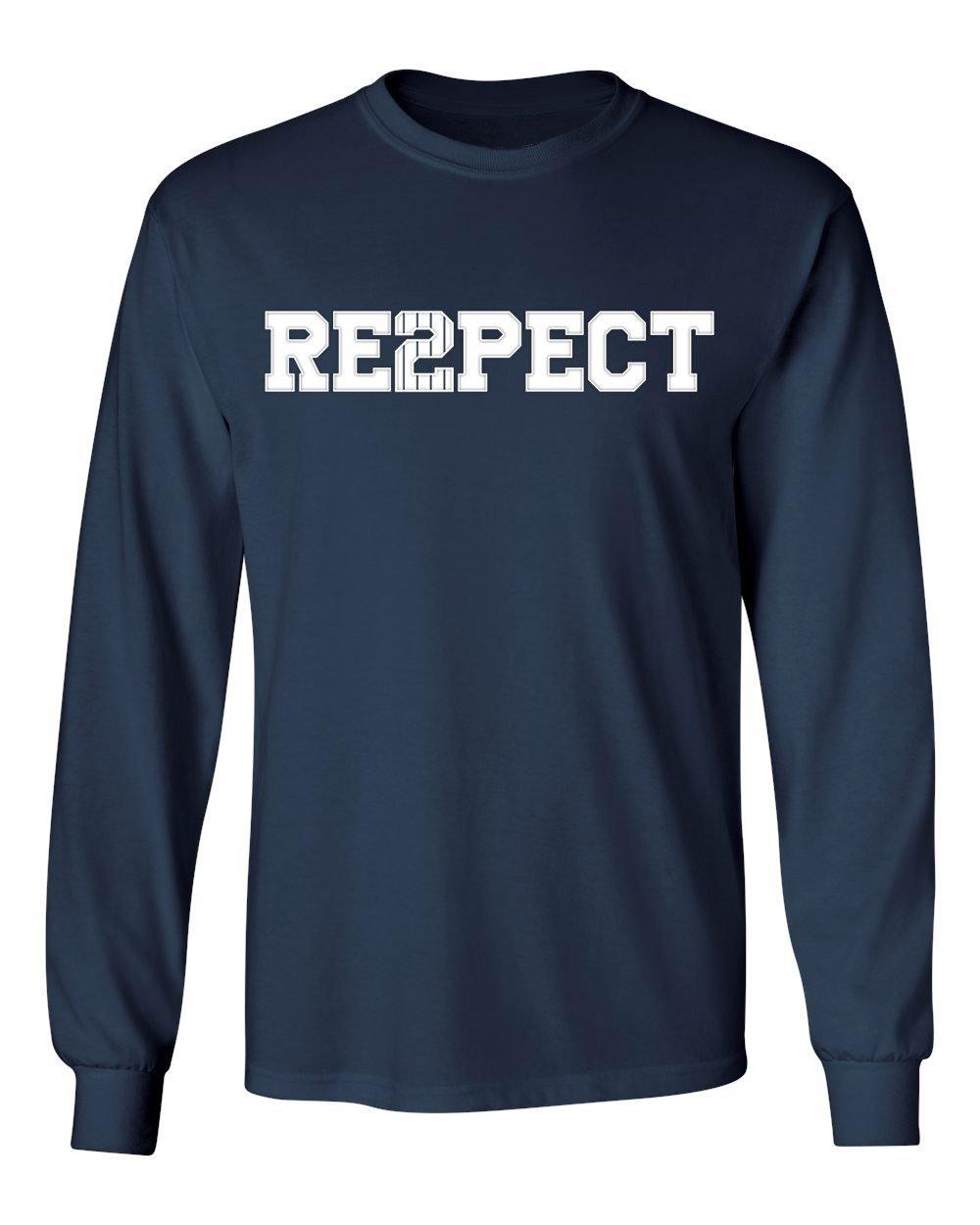 Get Quotations · Derek Jeter Retirement New York Captain Re2pect Men s Long  Sleeve T-Shirt dbd6f6b0c