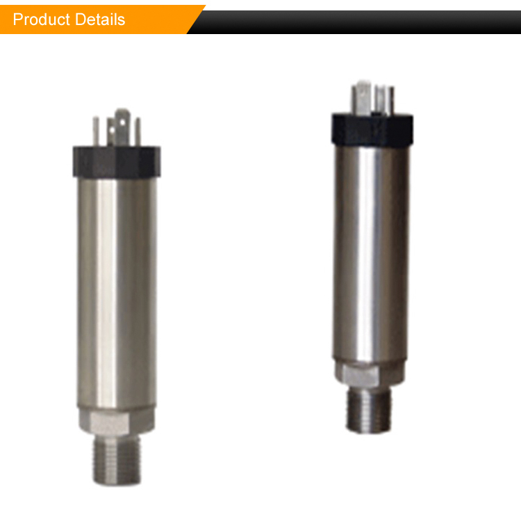 High accuracy high reliability static pressure transducer sensors