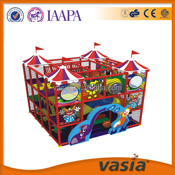 Circus theme small indoor playground