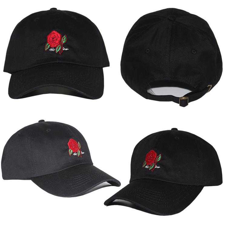 custom 6 panel baseball cap hip hop cotton embroidered
