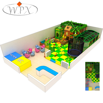 Hot Selling Modieuze Kleuterschool Kid'S Zone Indoor Soft Speeltoestellen