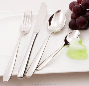mirror polish hotel stainless steel table cutlery
