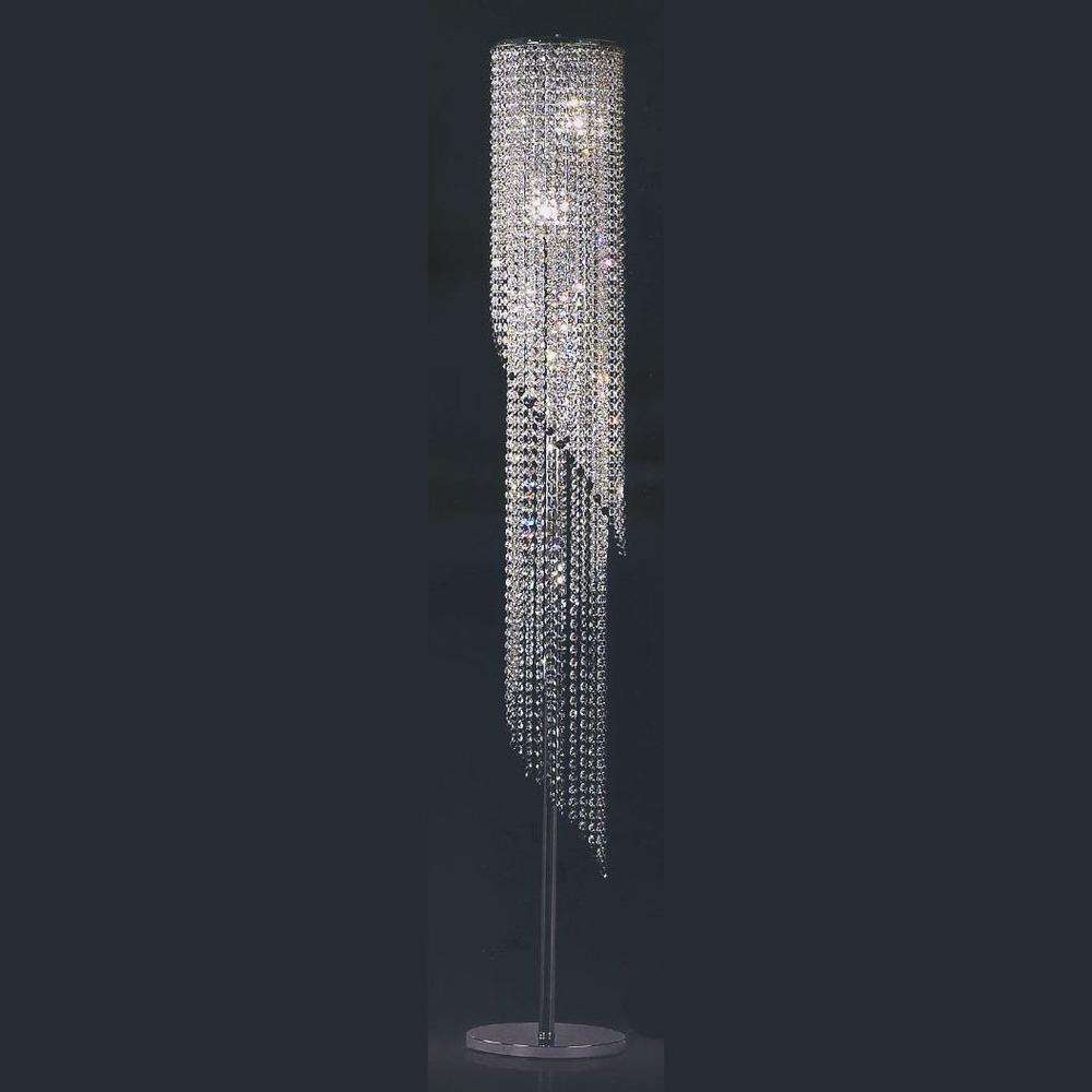 Hochwertige moderne chrom kristall stehlampe buy product on hochwertige moderne chrom kristall stehlampe parisarafo Gallery