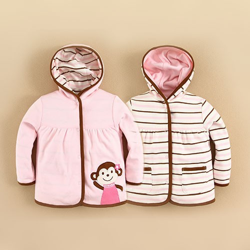 2015 Kids Clothing Supplier China Ready for Spring and Autumn Reversible Jackets(14228)