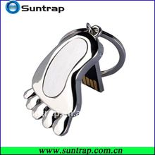 2GB,4GB,8GB big feet with keyring mini pen drive