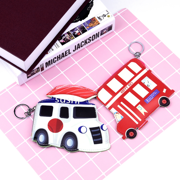 Wholesale Custom Cheap Six Designs Of Cars Coin Purse