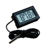 water proof probe digital thermometer,temperature to 100 degree thermometer TL8009