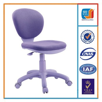 Merveilleux Lilac Mesh Swivel Office Children Chair Without Armrest