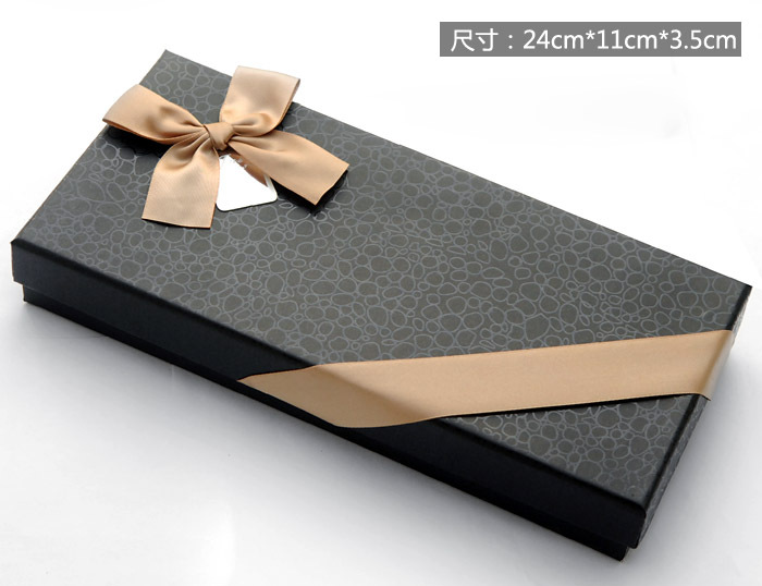 Leather Paper Luxury Bow Tie Gift Box - Buy Luxury Bow Tie Gift ...